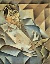 Portrait Pablo Picassos von Juan Gris (1912)