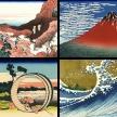 Hokusai: 36 Ansichten des Berges Fuji