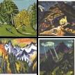 Landschaften von Ernst Ludwig Kirchner