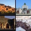 Marokkanische Städte, eine Auswahl