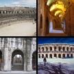 Nîmes: Römische Bauten