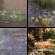 Seerosenbilder und der Garten von Giverny