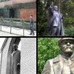 Statuen von Lenin