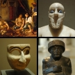 Werke im Louvre