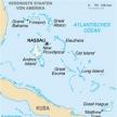Karte von Bahamas