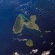Karte von Guadeloupe