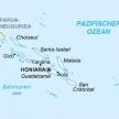 Karte von Salomonen
