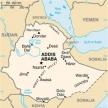Karte von Äthiopien