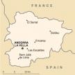Karte von Andorra