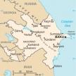 Karte von Aserbaidschan