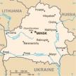 Karte von Belarus