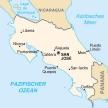 Karte von Costa Rica