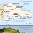 Karte von Dominikanische Republik