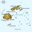 Karte von Fidschi