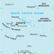 Karte von Französisch-Polynesien