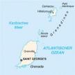 Karte von Grenada