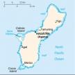 Karte von Guam