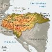 Karte von Honduras