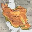 Karte von Iran