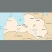 Karte von Lettland
