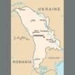Karte von Moldau (Moldawien)