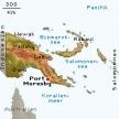 Karte von Papua-Neuguinea