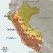 Karte von Peru