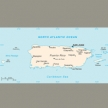 Karte von Puerto Rico