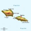 Karte von Samoa