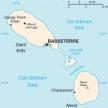 Karte von St. Kitts & Nevis