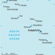 Karte von Tuvalu