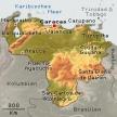 Karte von Venezuela