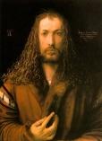 Albrecht Dürer: Selbstbildnis im Pelzrock (Münchner Selbstbildnis)