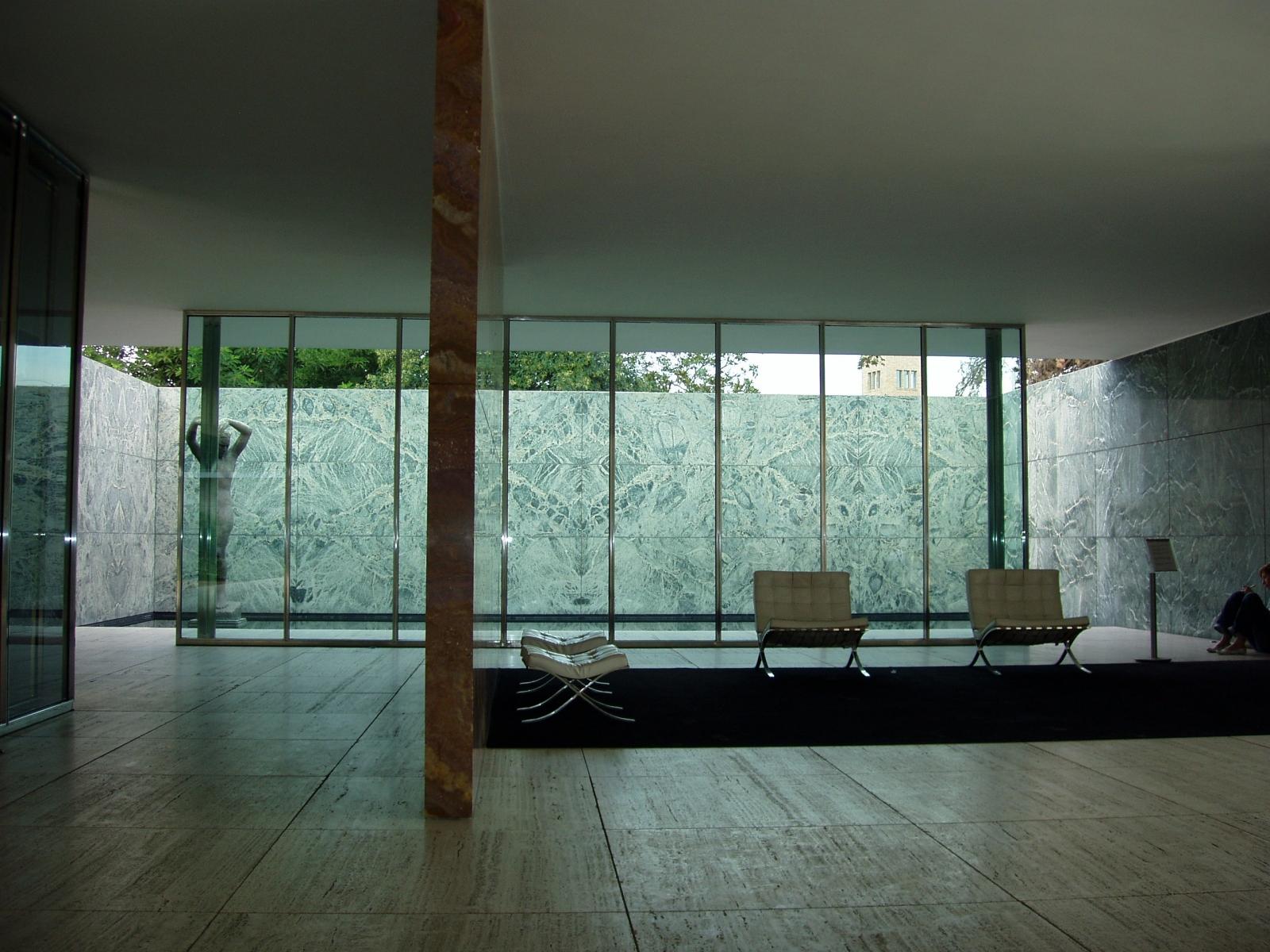 Ludwig Mies Van Rohe Barcelona Sessel Barcelona Pavillon 1929