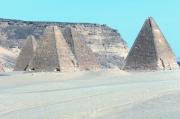 Die Pyramiden am Fuss des Jebel Barkal, Karima, Sudan