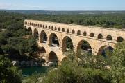 Pont du Gard, Nîmes, Frankreich