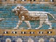 Löwe, Wandrelief auf der Prozessionsstraße von Ischtar