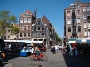 Amsterdam: Westermarkt in der Westerstreet