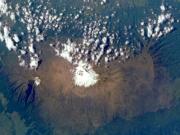 Satellitenbild des Kilimanjaro