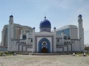 Die neue Moschee in Manjali Atyrau, Kasachstan