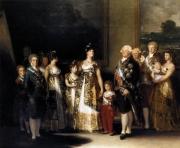 Francisco Goya: Die Familie Karls IV (ca. 1800-01), Öl auf leinwand, 280 x 336 cm Museo del Prado, Madrid