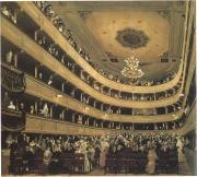 Gustav Klimt: Zuschauerraum im Alten Burgtheater in Wien (1888)