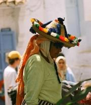 Berberin aus Chefchaouen, Marokko