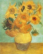 Vincent van Gogh: Zwölf Sonnenblumen (Januar 1889), Philadelphia Museum of Art