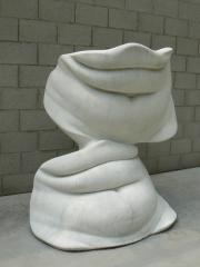 "Skulptur ""Bellies"" (1968) von Alina Szapocznikow im Skulpturenpark Kröller-Müller Museum (KMM) in den Niederlanden."