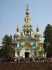 Christi-Himmelfahrt-Kathedrale in Almaty, Kasachstan