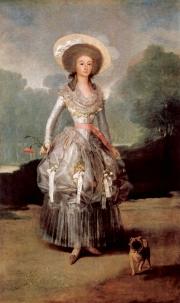 Francisco de Goya: Bildnis der Marquesa de Pontejos (um 1786)
