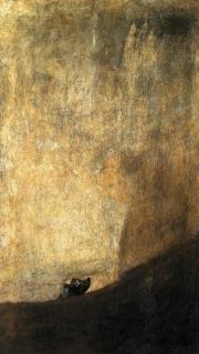 Francisco Goya: Hund (1820-1823)