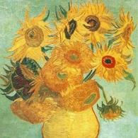 Die Sonnenblumen von van Gogh