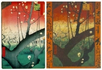 Vincent van Gogh: Blühender Pflaumenbaum (Japonaiserie)